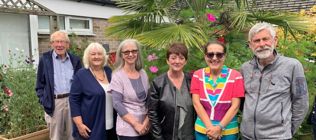 Age Concern Dementia Services reopen communal garden at Charnely Fold