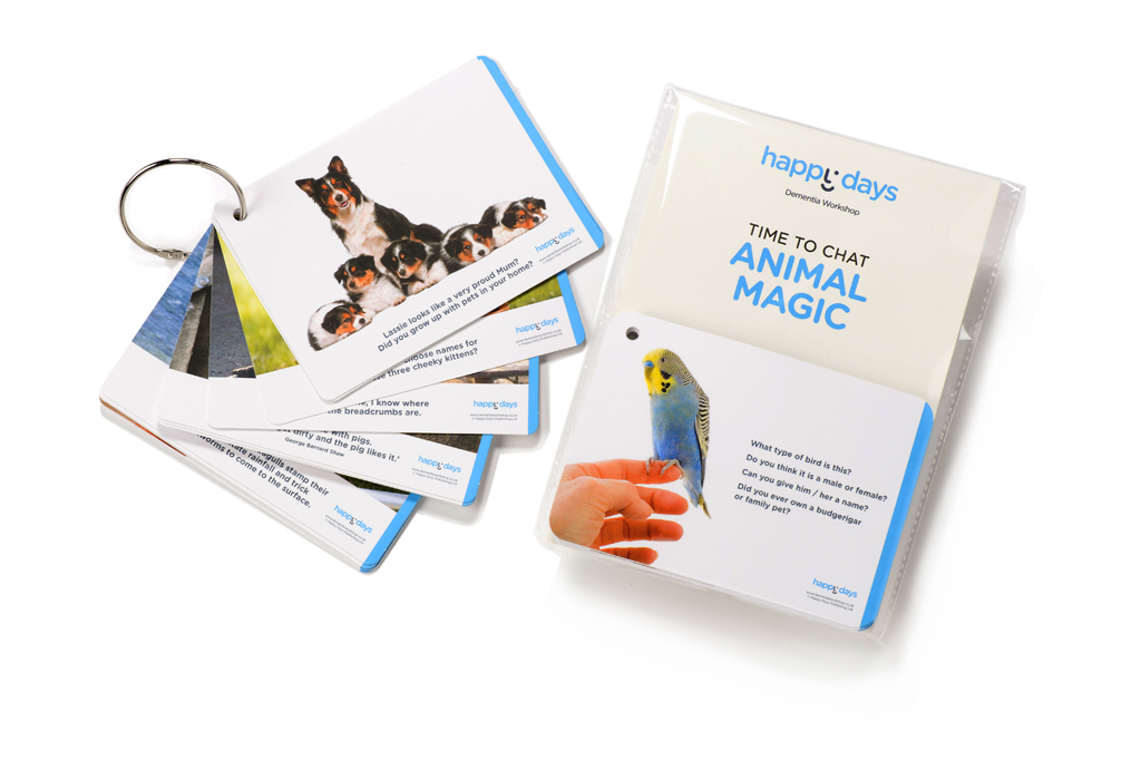 Time to Chat Cards Animal Magic ©-0