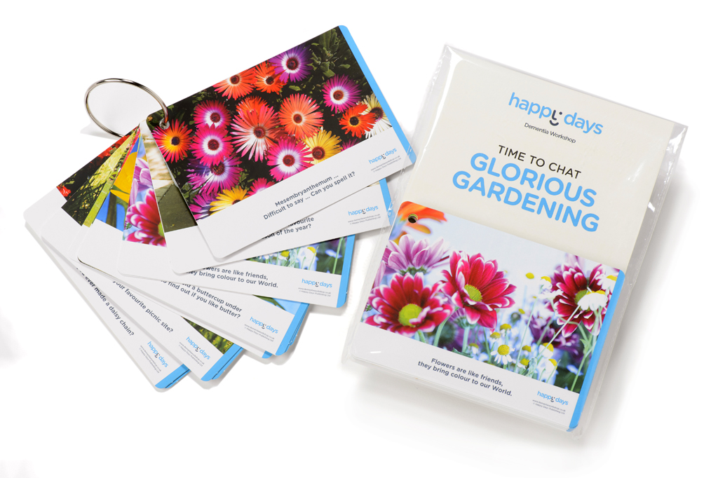 Time To Chat Cards Glorious Gardening ©-0