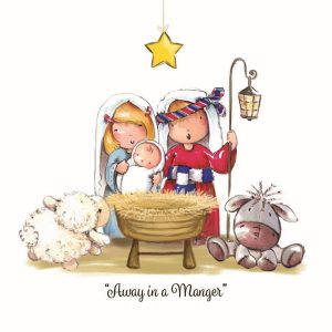Charity Christmas Cards. Nativity. Religious. Birth of Jesus-0