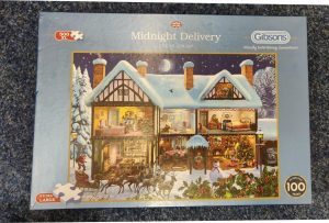 Gibson's Midnight Delivery 500 Piece XL Jigsaw ~ Pre-Loved